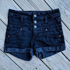 Mossimo denim 2/26 high rise shorts super stretch